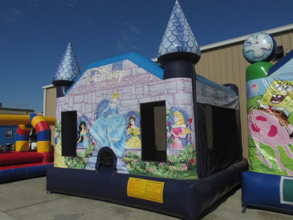 Disney Princess 2 Bounce House | Space Walk