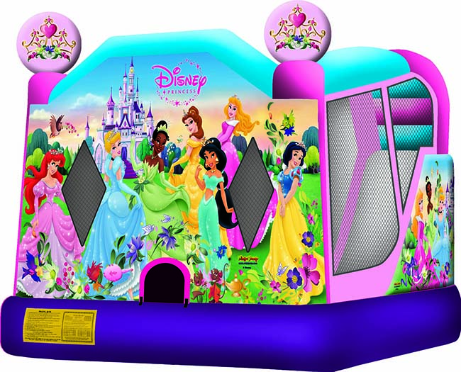 Disney Princess 2 C4 Bounce House Combo