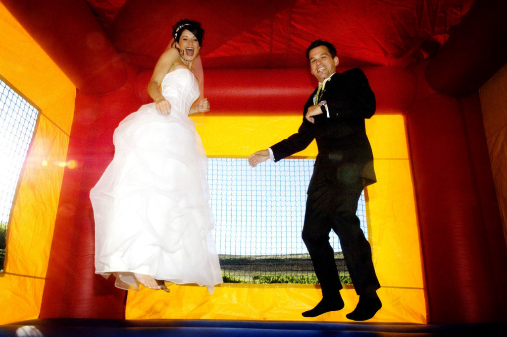 Embrace The Unusual As You Plan Your Outdoor Wedding Reception Inflatable Als Could Be Perfect Addition To An Extraordinary Celebration Give